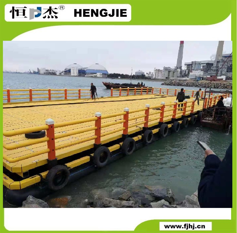 HDPE Floating Platform for offshore eco-tourism